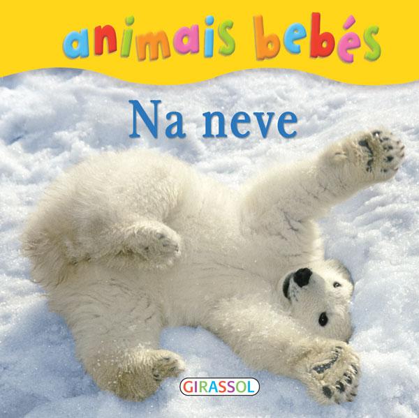 Animais bebés-Na neve