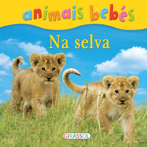 Animais bebés-Na selva