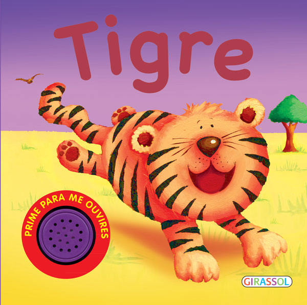 Animais da selva com som-Tigre