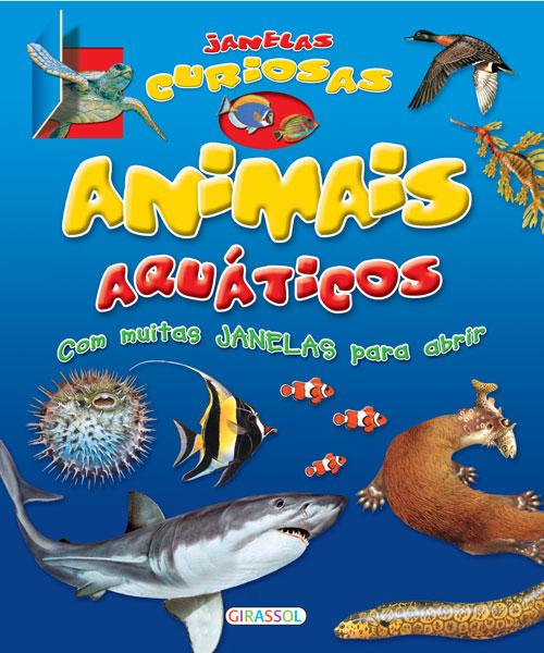 Janelas curiosas-Animais aquáticos