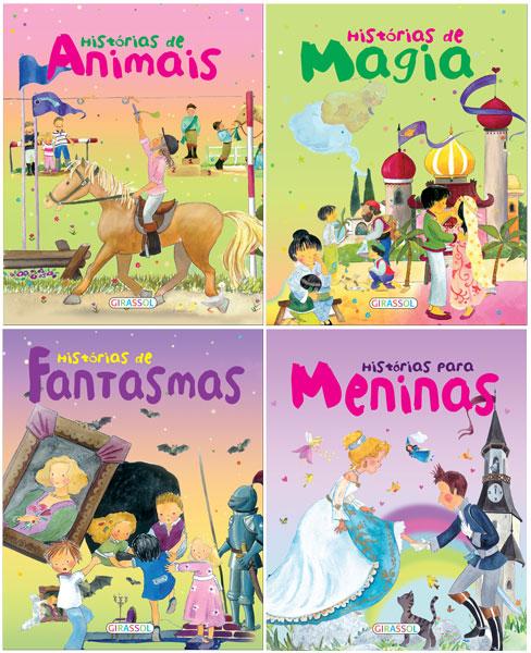 Histórias mágicas de animais, magia, fantasmas e para meninas