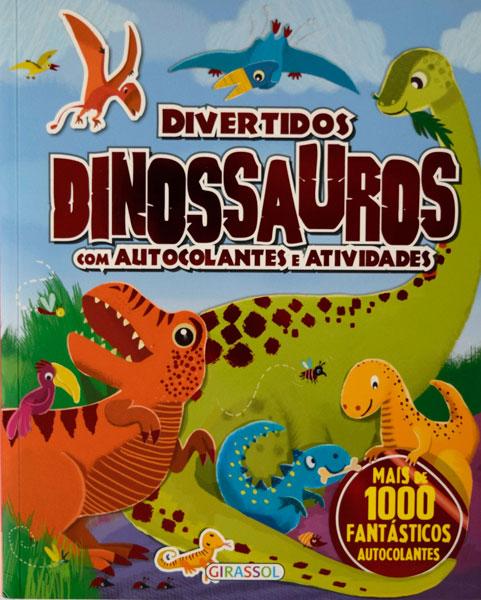 Divertidos Dinossauros com autocolantes