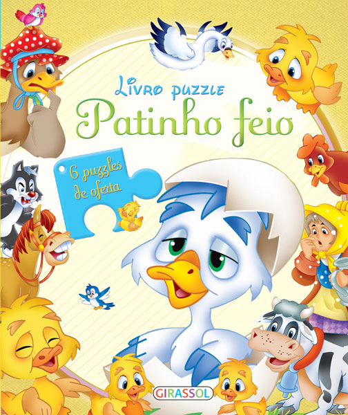Livro Puzzle-Patinho Feio