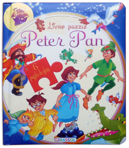 Livro Puzzle - Peter Pan