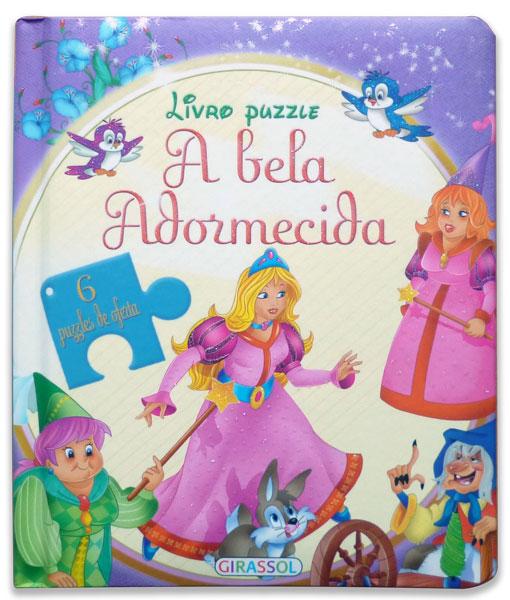 Livro Puzzle - A Bela Adormecida