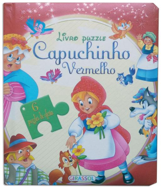 Livro Puzzle Capuchinho Vermelho