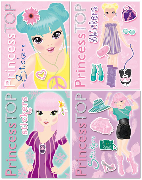 Princess Top Stickers