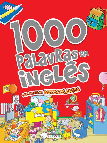 1000 Palavras em inglês com autocolantes