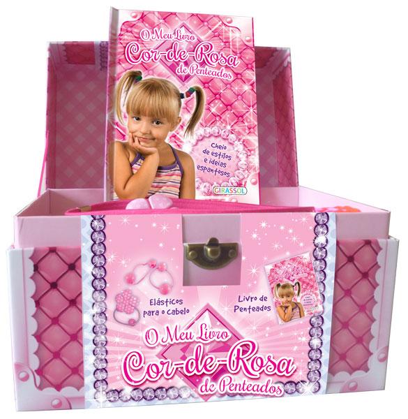 O Meu Livro Cor-de-rosa de Penteados