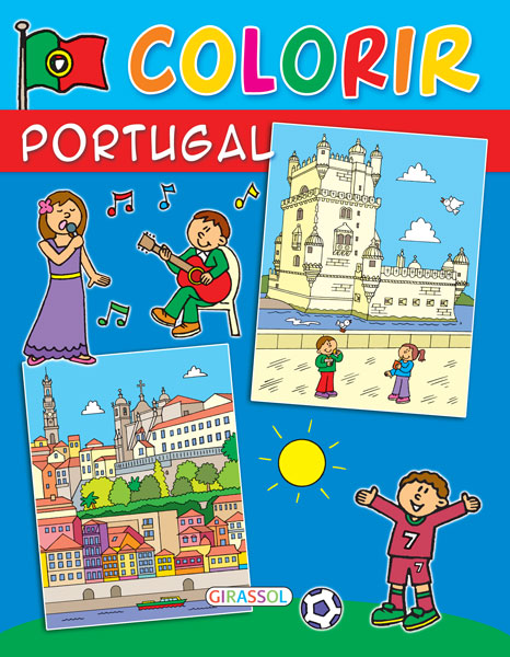 Colorir Portugal (azul)