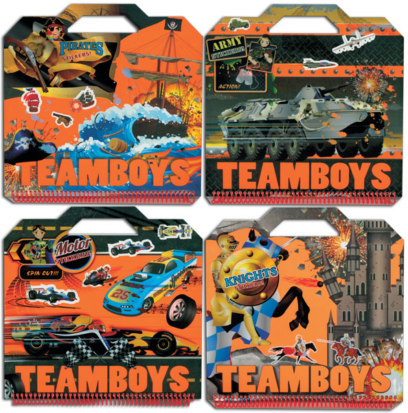 Teamboys Stickers
