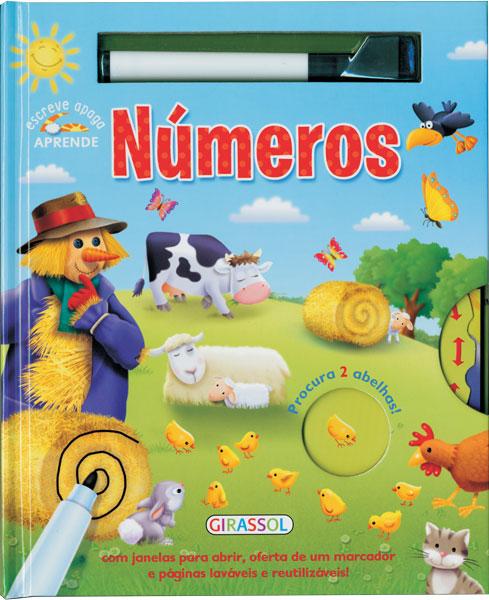 Escreve Apaga Aprende N�meros