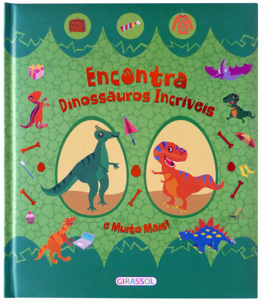 Encontra Dinossauros Incríveis e Muito Mais!