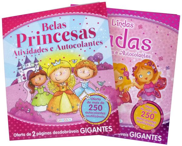 Lindas Fadas e Belas Princesas-Ativ. e Autoc.