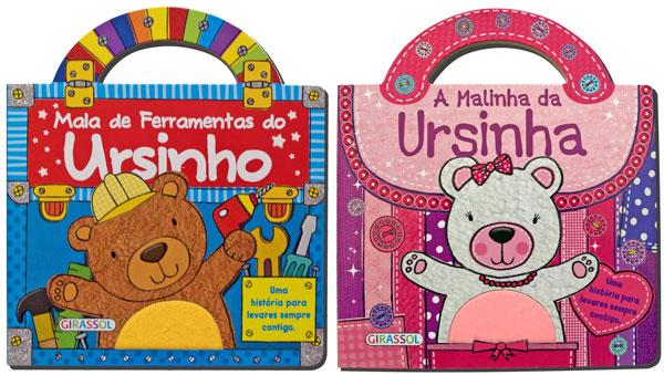 Mala de Ferramentas do Ursinho e A Malinha da Ursinha