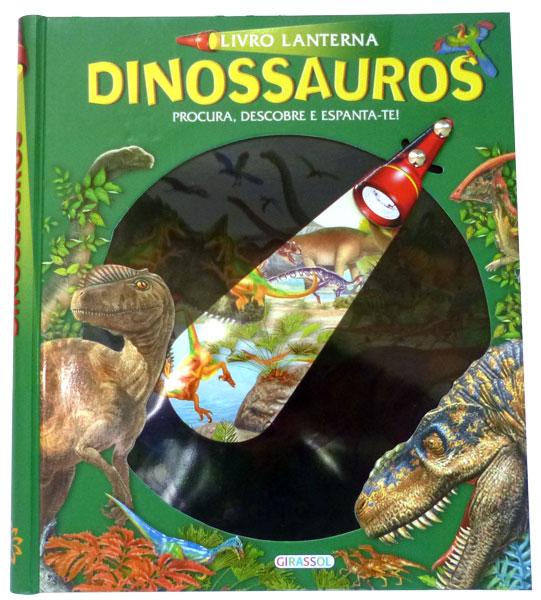 Livro Lanterna Dinossauros