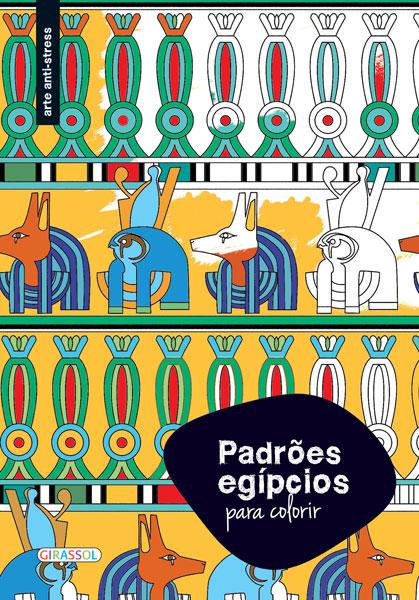 Padrões para Colorir Egípcios