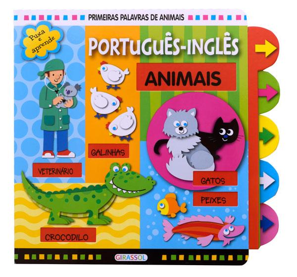 Primeiras Palavras de Animais - Port.-inglês