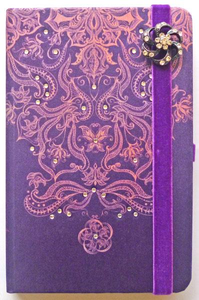 Caderno Bolero Roxo