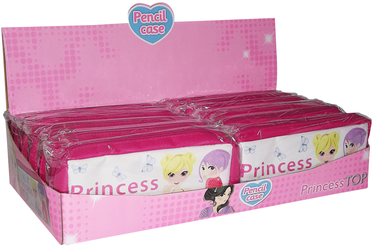 Princess Top - Pink Pensil Case
