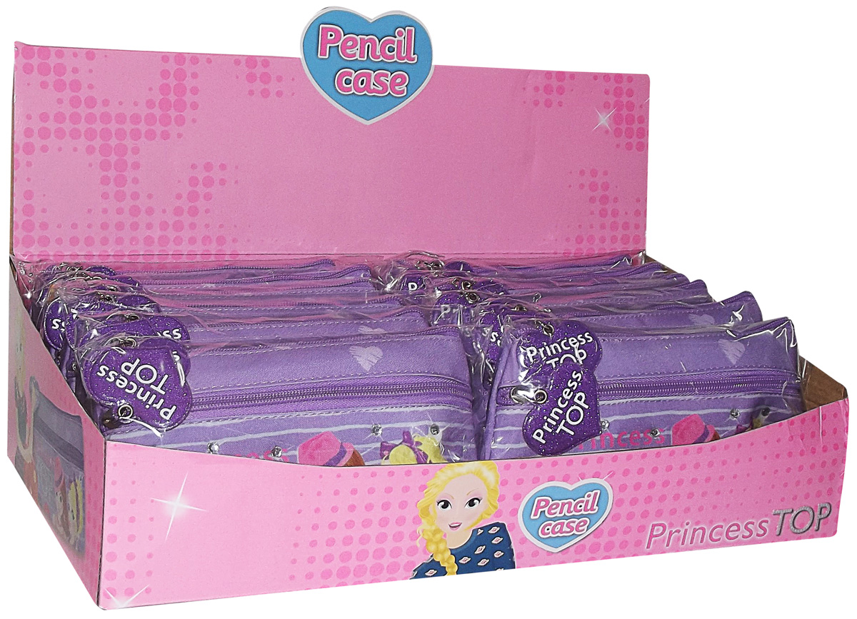 Princess Top - Purple Pensil Case