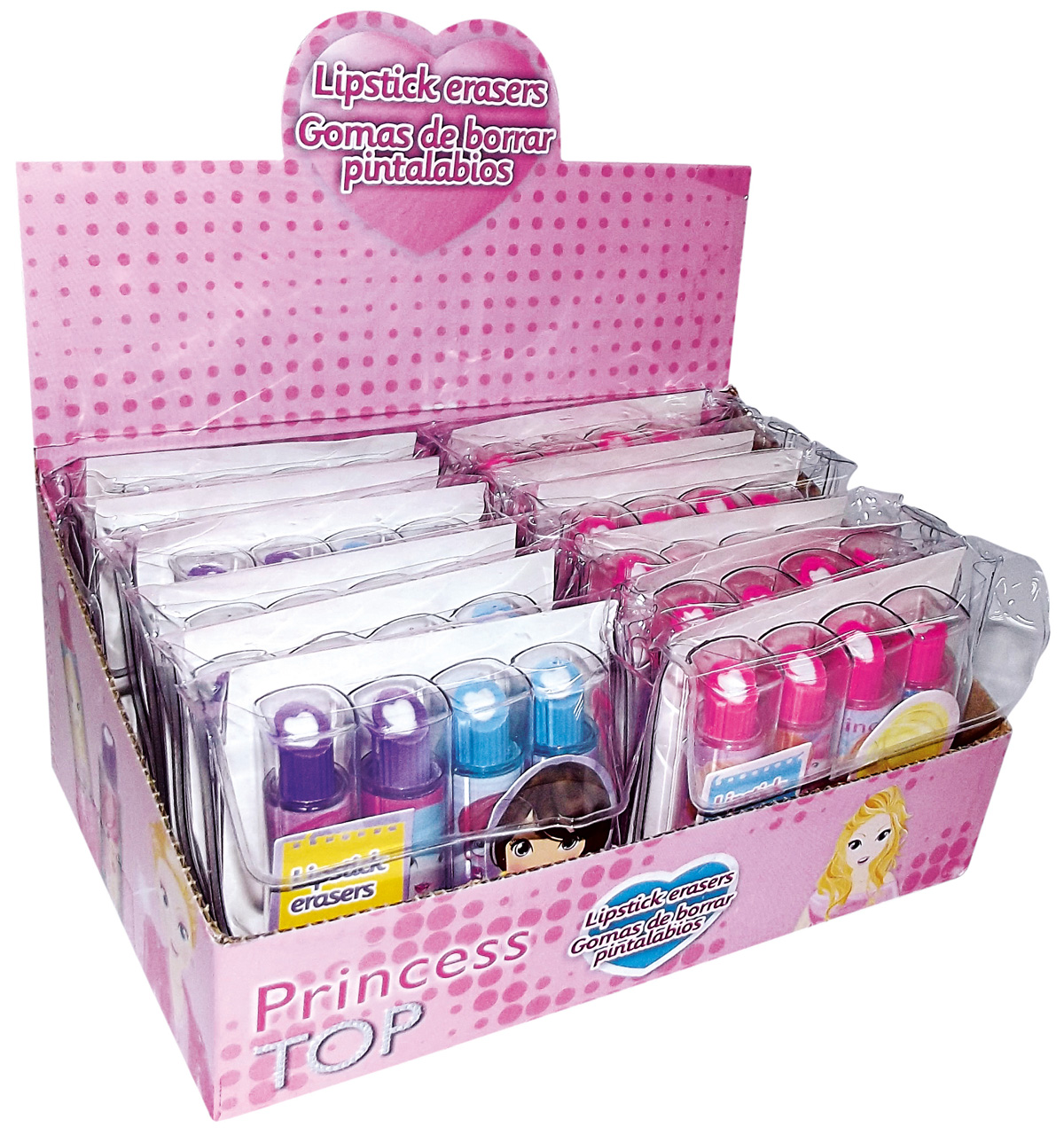 Princess Top - Lipstick Erasers
